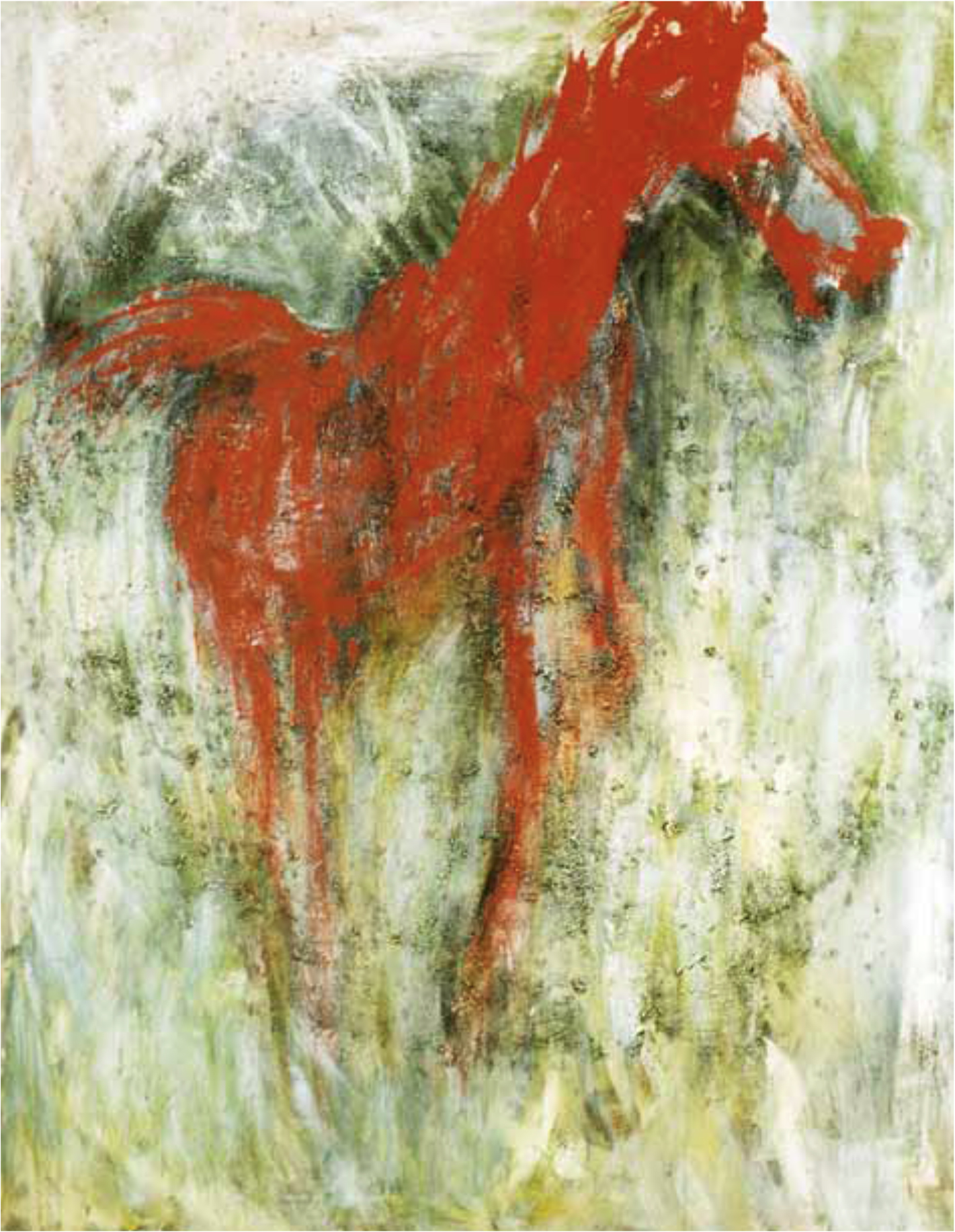 Le grand cheval rouge